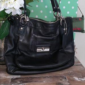 Coach Kristin E1182- 18298 Leather Shoulder Bag